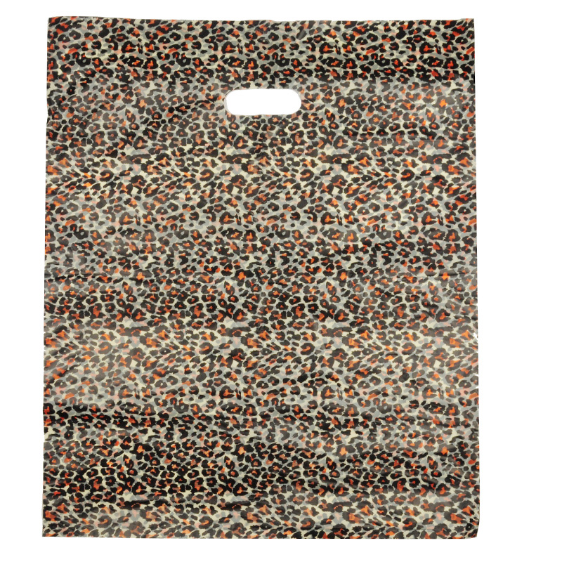HGRQ240 F - Large Leopard Printing 50*60cm Carrier Bag*100pcs