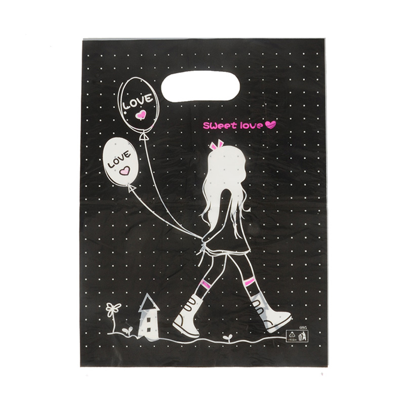 HGRQ241-1 A - Beautiful Girl 25*35cm Carrier Bag*100pcs