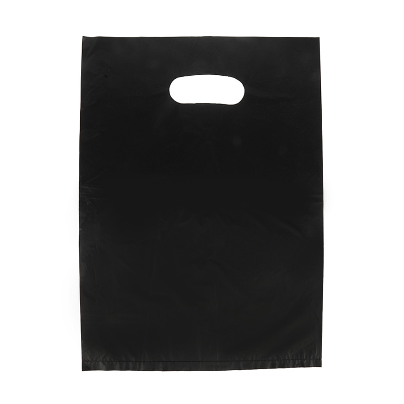 HGRQ241-1 J - Black 25*35cm Carrier Bag*100pcs