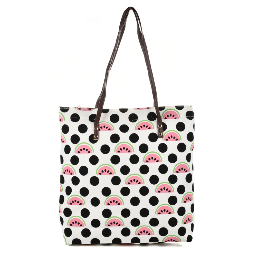 QQ2162 E - Watermelon Pattern Large Handbag