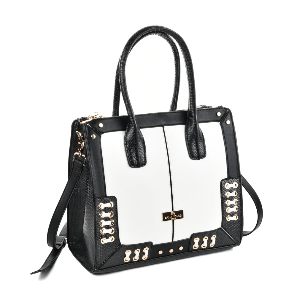 (Spice long) Sally Young Women Handbags SY2114 White
